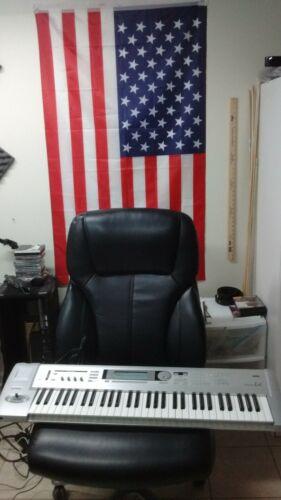 Korg Triton Le 61 Key Music Workstation Synthesizer w/New Power Supply~Used~Good