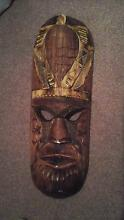 Fijian wooden masks Never Used Preston Central Coast Preview
