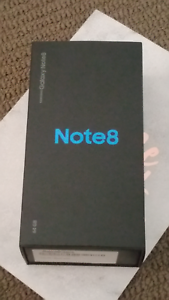 Samsung Midnight Black Galaxy Note 8 Adelaide CBD Adelaide City Preview