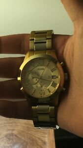 Gold Guess Watch mint condition