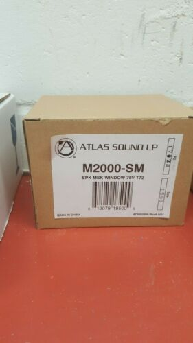 Atlas Sound M2000-SM Surface Mount Masking Transducer