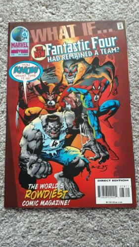 Marvel Comics - What If - No 78 - OCT 1995 - The New Fantastic Four Had Remained