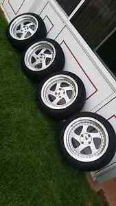 16' Avid-1 4x100 wheels and tyres Prospect Prospect Area Preview
