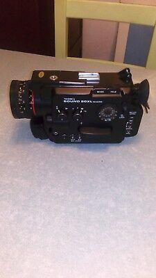 YASHICA Sound 50XL Macro Caméra 8MM avec housse transport très bel état