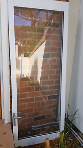 Aluminum and glass door Cooks Hill Newcastle Area Preview