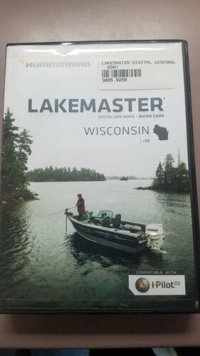 Humminbird LakeMaster Digital GPS Map - Wisconsin - Version 7.0