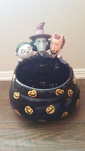 Nightmare Before Christmas Trick or Treaters Candy Bowl Dish ...