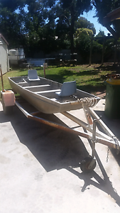 boat and trailer Swan Hill Swan Hill Area Preview
