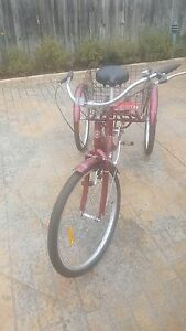 Schwinn cherry red adult trike tricycle Brunswick West Moreland Area Preview