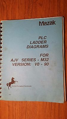 Mazak Ajv Series - M32 Plc Ladder Diagrams - Version Vo-90