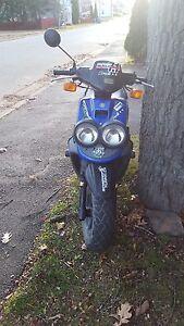 2006 Yamaha bws 50. 70 bore!!