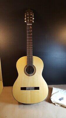 Rare NMint Univox 3045 RH Classic Acoustic Dreadnought Guitar w hard case Japan