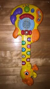Children's baby/toddler musical toy guitar and piano