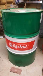 Castrol 44 gallon oil drum