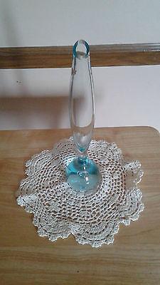 Vintage Lead Crystal Teardrop Bud Vase ( Rare ) Teardrop Bud Vase