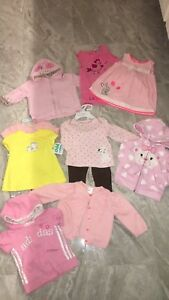 Baby girl Lot 3-6/6 months *58 items!