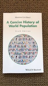 A Concise History if World Population Book