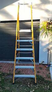 Gorilla platform ladder 1.8m. fiberglass Rothwell Redcliffe Area Preview