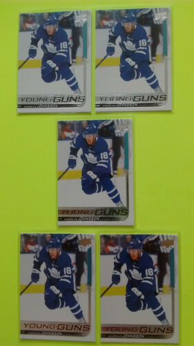 Lot Of 5 Ud 2018-19 Young Guns Yg Rookie Rc Upick