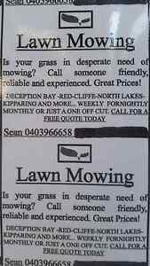 NEED YOUR LAWNS MOWED??? Rothwell Redcliffe Area Preview