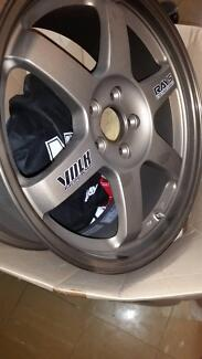 TE37's Rays Volk Racing Ultimate Lightweight rim 17x7.5 5x100 86