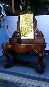 Antique  Dressing Table Moruya Eurobodalla Area Preview