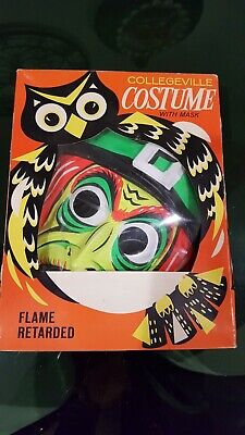Vintage COLLEGEVILLE COSTUME Halloween Witch with Mask in box