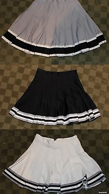 Cheerleader Dance Team Halloween Costume for Girls or Women - Cheer Skirt