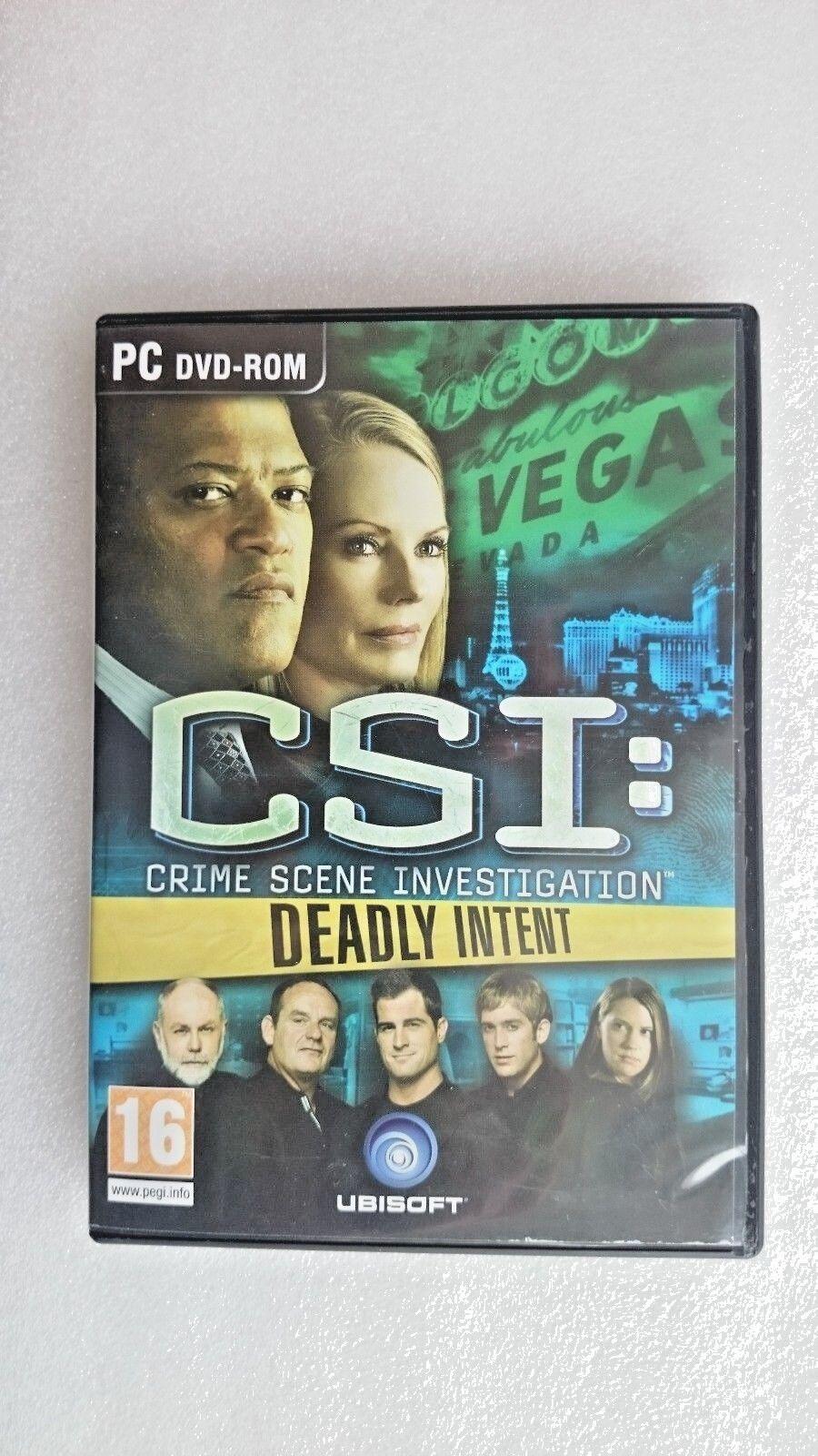 CSI: Crime Scene Investigation - Deadly Intent (PC, 2009)