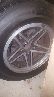 Rebel alloy wheels.