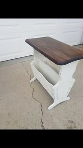 Restored end table