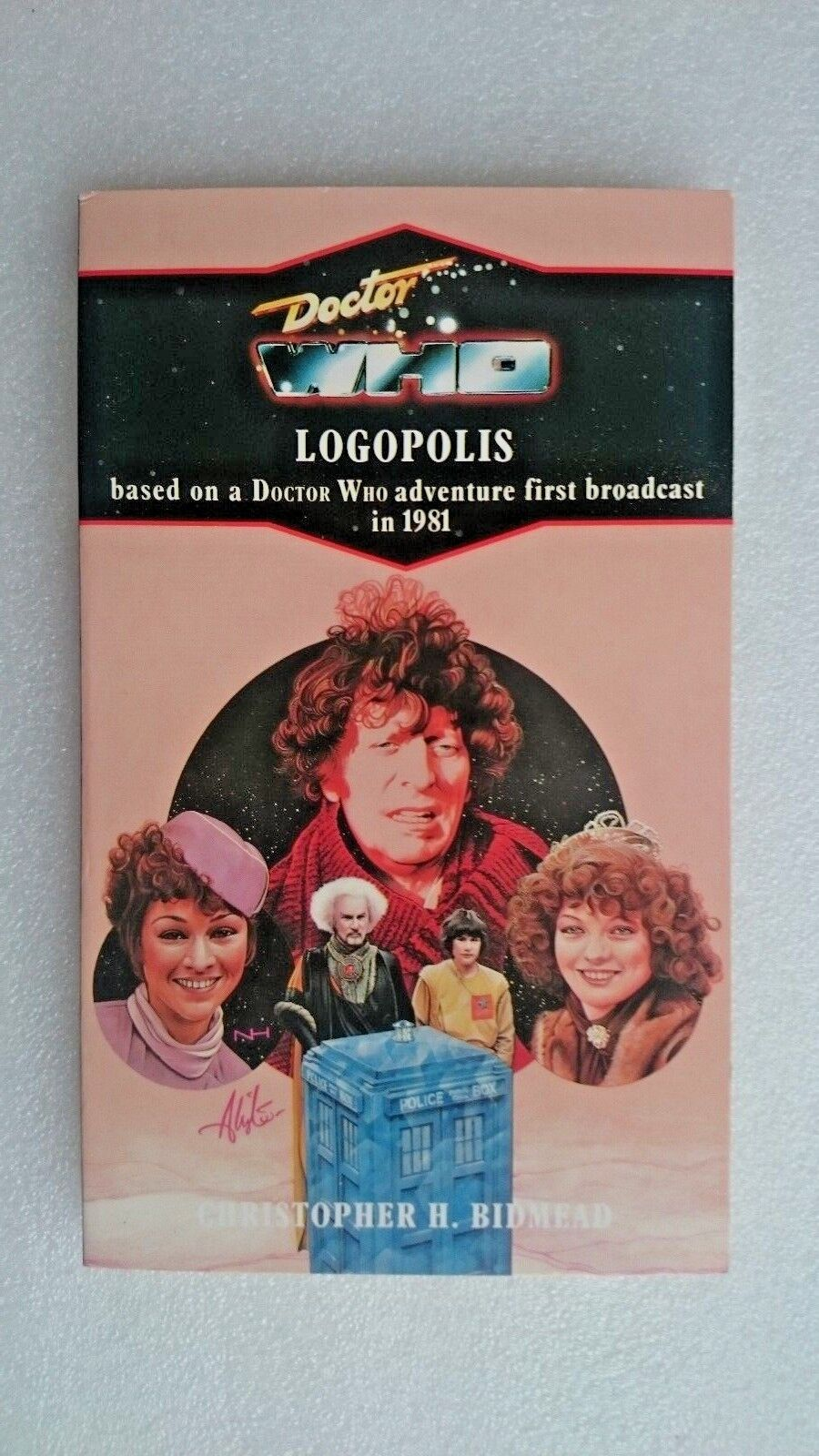 Doctor Who-Logopolis by Christopher H. Bidmead (Virgin Paperback, 1991)