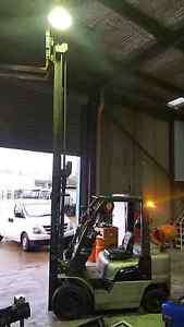 Nissan forklift 2.5 tonne 4.5 metre reach weight gauge side Wetherill Park Fairfield Area Preview