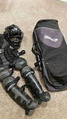 Easton Natural Intermediate Catcher/Baseball gear/helmet/chest/legs Champro (Baseball Catchers Gear Bag)