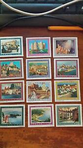 12 Italian collector's stamps from the 1970s Glenalta Mitcham Area Preview
