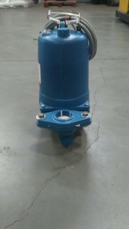 WS1018BF Goulds 1HP 1750RPM 1PH 208V Submersible Sewage Pump