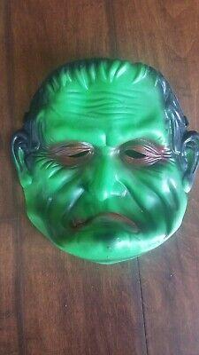 Frankenstein Mask For Kids (kids soft plastic Frankenstein Halloween mask Dress)