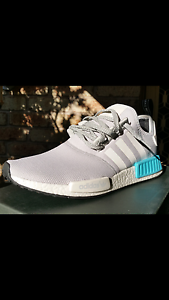 Adidas nmd r1 cyan blue ,mens us 10,swap for ultra boost,iniki, x Newcastle Newcastle Area Preview