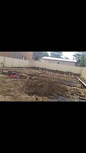 Tipper hire truck hire excavator hire excavation hire landscaping Prestons Liverpool Area Preview