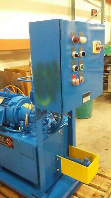 Pacific Fluid System W 10hp Hydraulic Pump Thermal Transfer Heat Exchanger