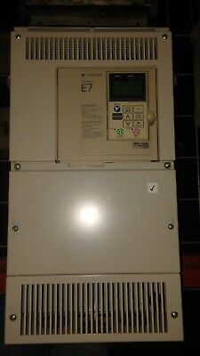 Yaskawa Cimr-e7u4024 40 Hp Variable Frequency Drive Complete