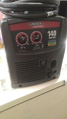 Lincoln Electric Mig Welder Pro Mig 140 K2480-1 New No Box