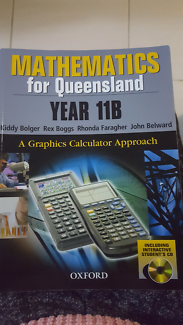 Mathematics for QLD year 11B textbook Southport Gold Coast City Preview