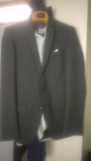 Bossini suit, shirt and shoes