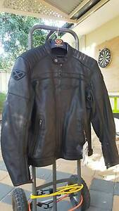 Mens Ixon Piston leather motorcycle biker jacket large NEW Melville Melville Area Preview