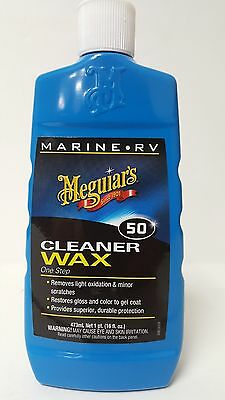 Meguiars M5016 CLEANER WAX 16 oz.MARINE