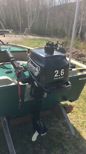 2.6hp outboard brand new