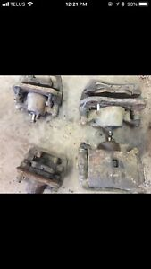 Honda CR-V calipers and pads