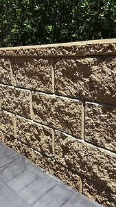 Versawall Retaining Wall Blocks and Caps Glenwood Blacktown Area Preview