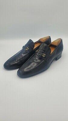 Vintage Men Gucci Shoes. Brown. Size 45 M TLC Monogram